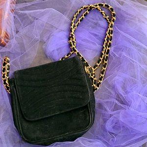 👛Amanda Smith velvet evening purse.
